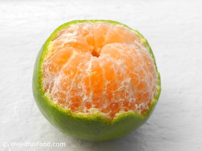 เนื้อส้มเขียวหวาน