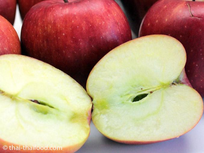 เนื้อแอปเปิ้ลแดง
