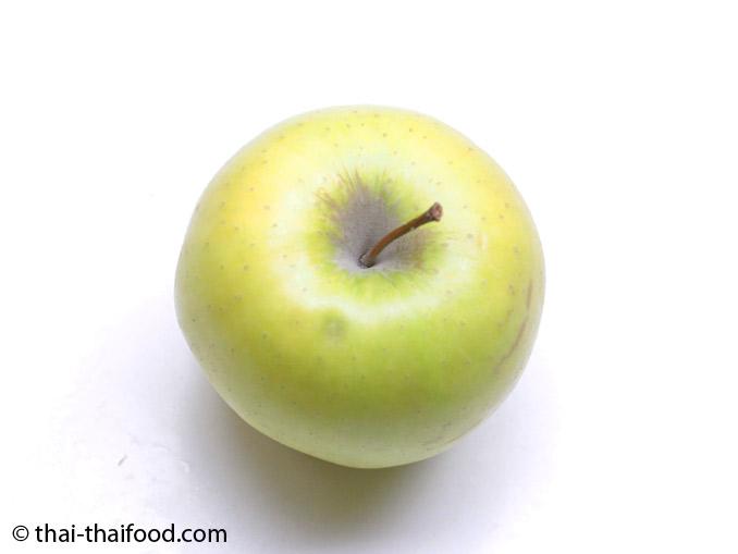 แอปเปิ้ลสีเหลืองสุก