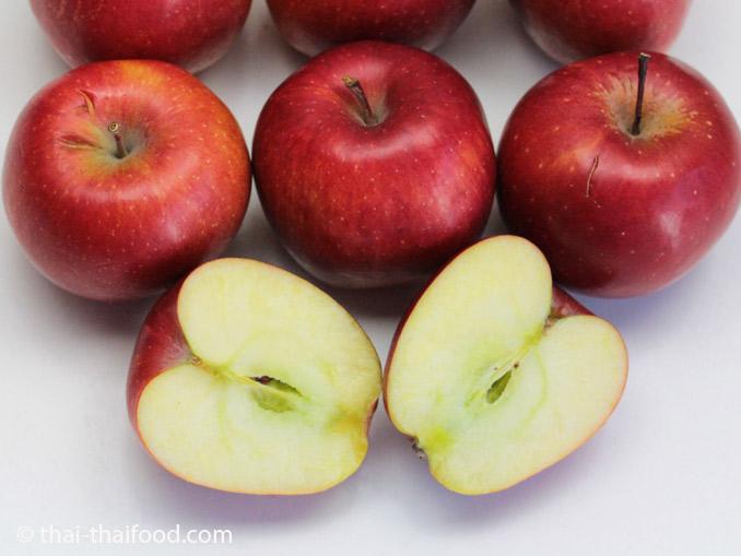 แอปเปิ้ลแดงสุก