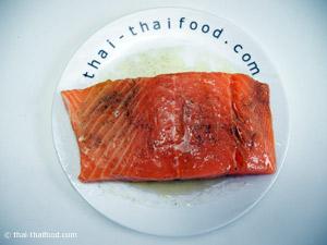 หมักปลาแซลมอน
