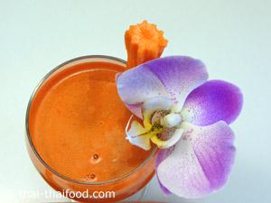 จัดเสิร์ฟ น้ำแครอท