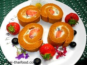 เค้กโรลชาไทย