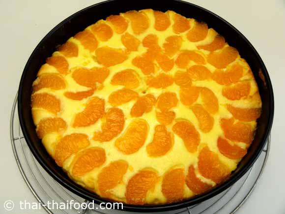 ชีสเค้กส้มแมนดารินอบสุก