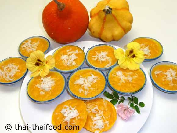 Thai Kürbis Dessert