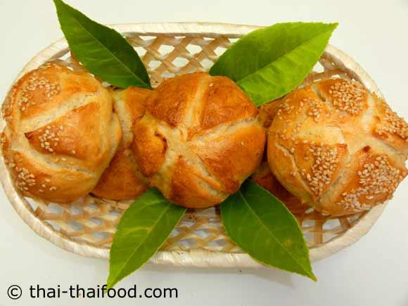 ขนมปังไคเซอร์โรล พร้อมจัดเสิร์ฟ