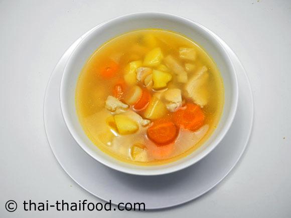 ซุปไก่มันฝรั่ง