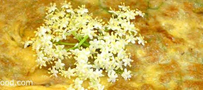 ไข่เจียวดอกอัลเดอร์เบอร์รี่