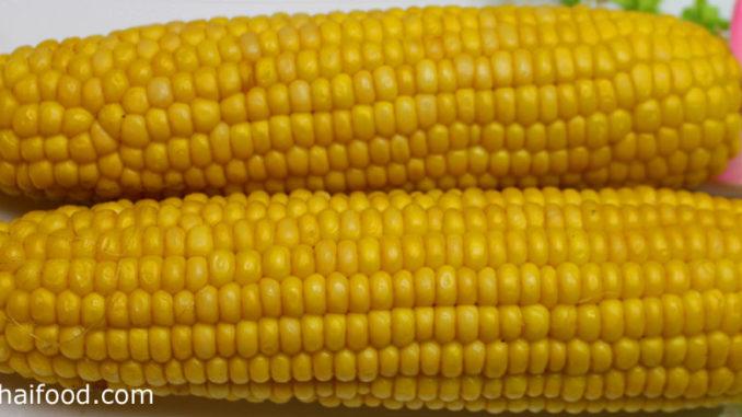 ข้าวโพดหวาน (Sweet Corn) เป็นข้าวโพดชนิดหนึ่ง ฝักทรงกระบอก หุ้มด้วยกาบบางๆหลายชั้นรอบฝัก มีเมล็ดเรียงอยู่เต็มถึงปลายฝัก มีทรงกลมแบนเล็กๆมีสีเหลือง รสชาติหวานมัน