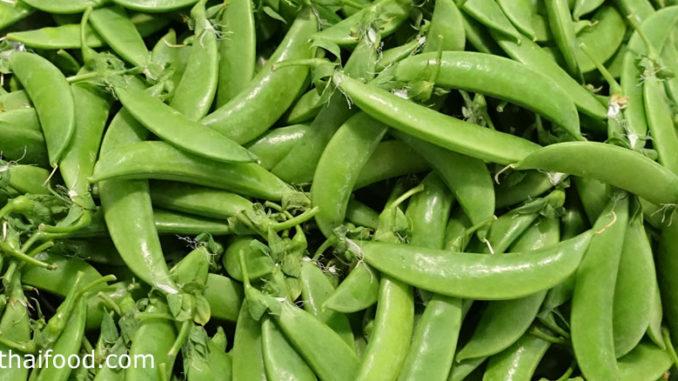 ถั่วลันเตา (Pea) เป็นถั่วชนิดหนึ่ง ผลเป็นฝักมีทรงแบนยาวรี โค้งงอเล็กน้อย ฝักอ่อนสีเขียวอ่อน รสชาติหวานกรอบ ฝักแก่มีสีเขียวเข้มจะนูนขึ้น มีเมล็ดโตเรียงกันอยู่ข้างใน รสชาติหวานมัน