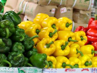 พริกหวาน (Bell Pepper) เป็นพริกชนิดหนึ่ง ผลคล้ายรูประฆัง ทรงสี่เหลี่ยมหรือหกเหลี่ยม มีขนาดใหญ่ ผิวเปลือกหนาลื่นเป็นมัน ผลมีสีแดง สีเขียว สีส้ม สีเหลือง หรือสีม่วง ตามสายพันธุ์ รสชาติหวานกรอบ