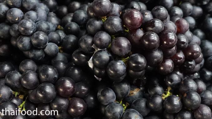 องุ่นดำ (Black Grape) เป็นองุ่นชนิดหนึ่ง ผลทรงกลม ทรงรี ผลมีสีน้ำเงินเข้ม หรือสีม่วงดำ ตามสายพันธุ์ รสชาติเปรี้ยวอมหวาน หรือหวานกรอบ เนื้อนุ่มฉ่ำน้ำ